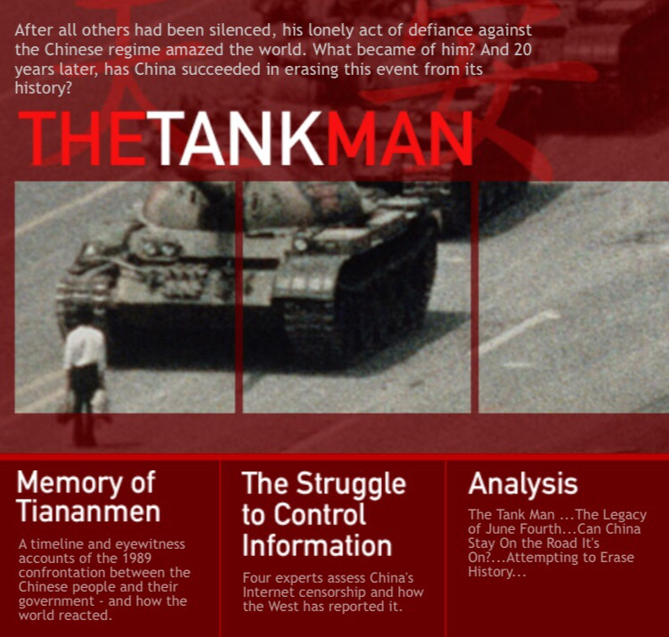 Frontline's The Tank Man