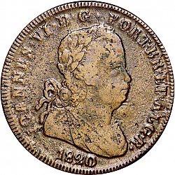 Portuguese coin, 1820