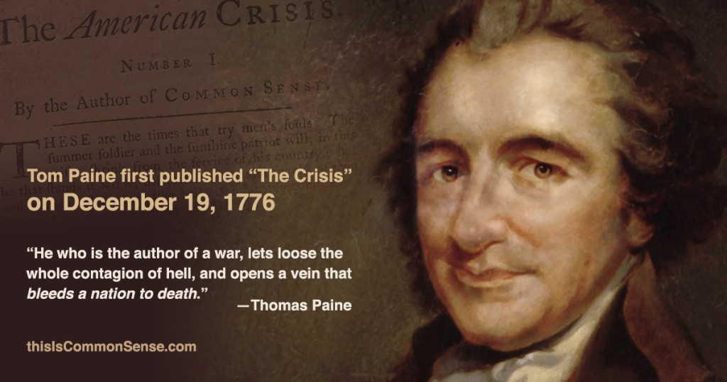 "Tom Paine and ""The Crisis"""