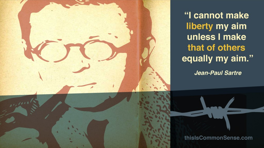 Sartre: Equal Liberty