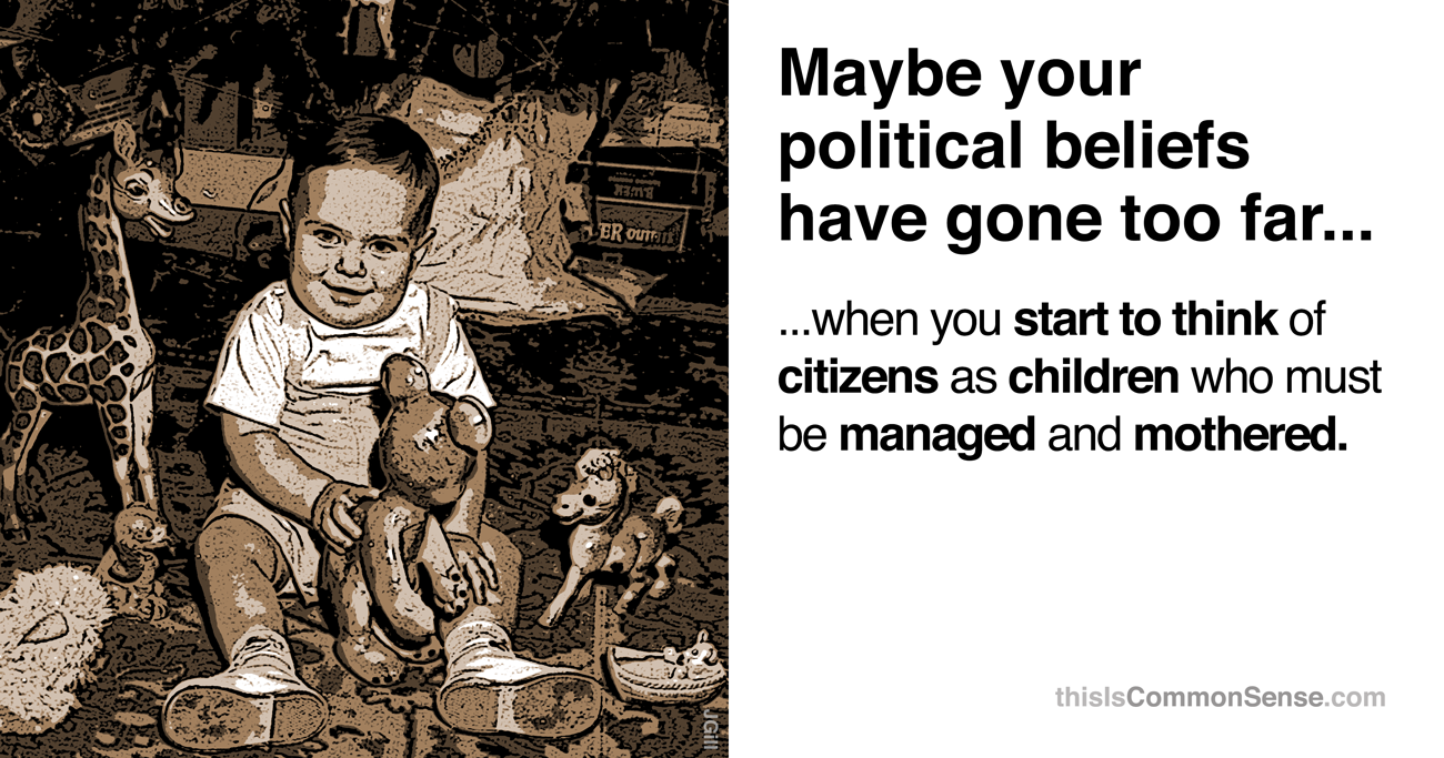 Citizens as children
