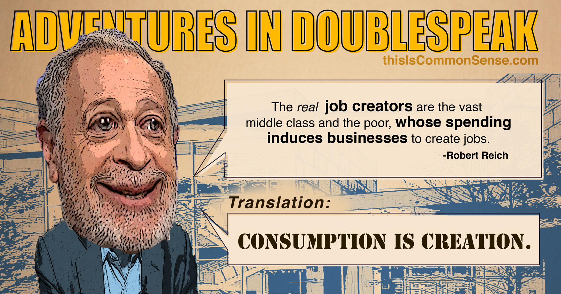 Robert Reich Doublespeak