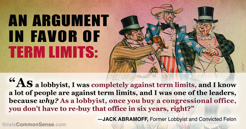 An Argument in Favor of Term Limits