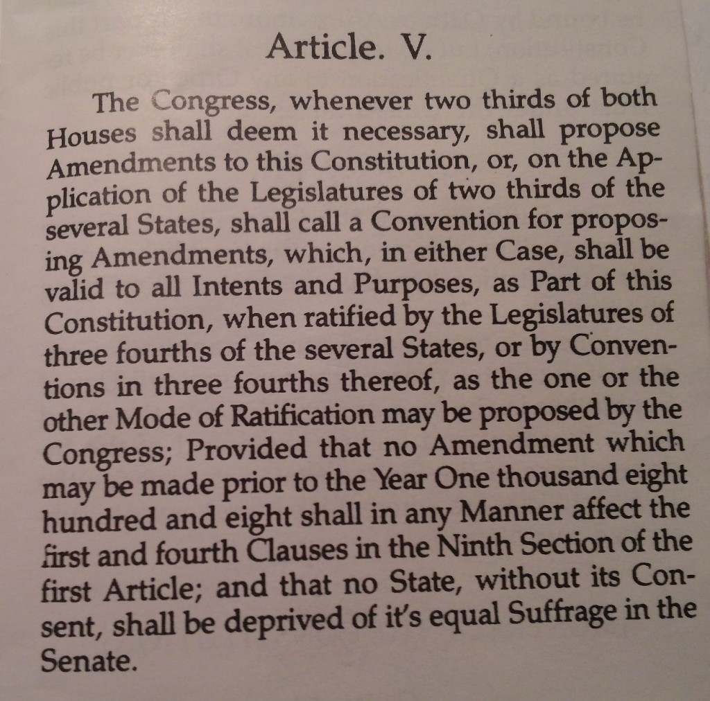should the constitution be amend to