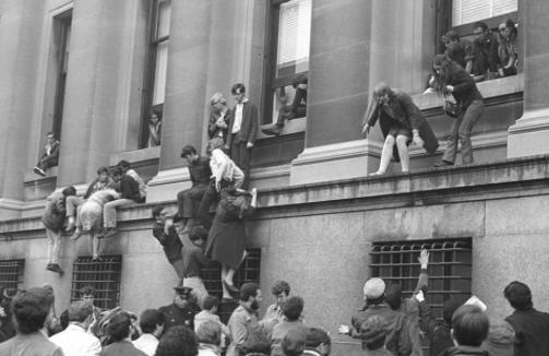 April 23 1968 Columbia Student Protest