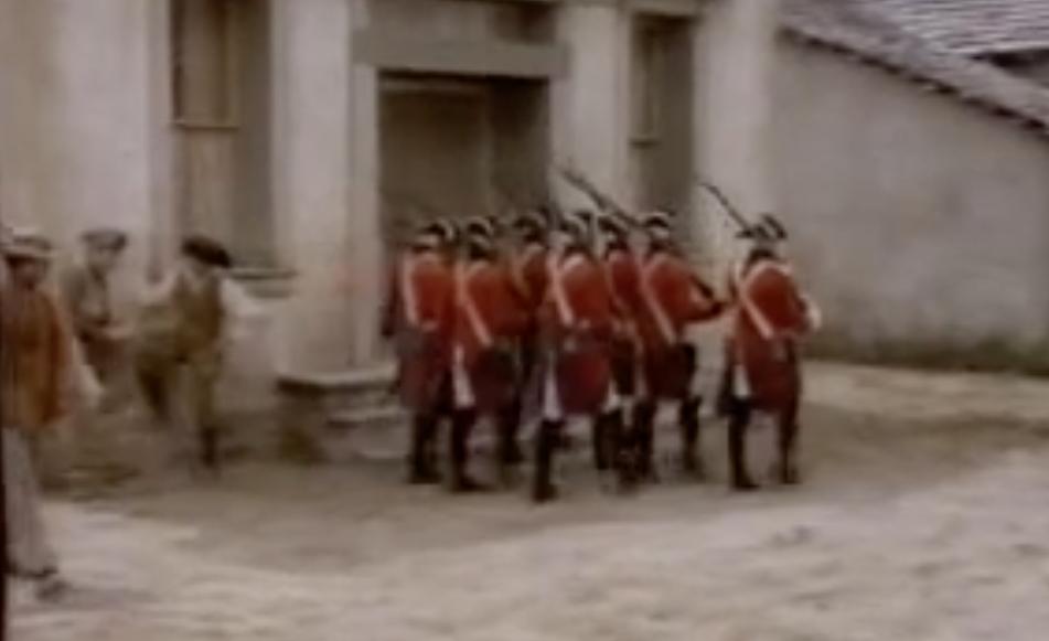 Redcoats!
