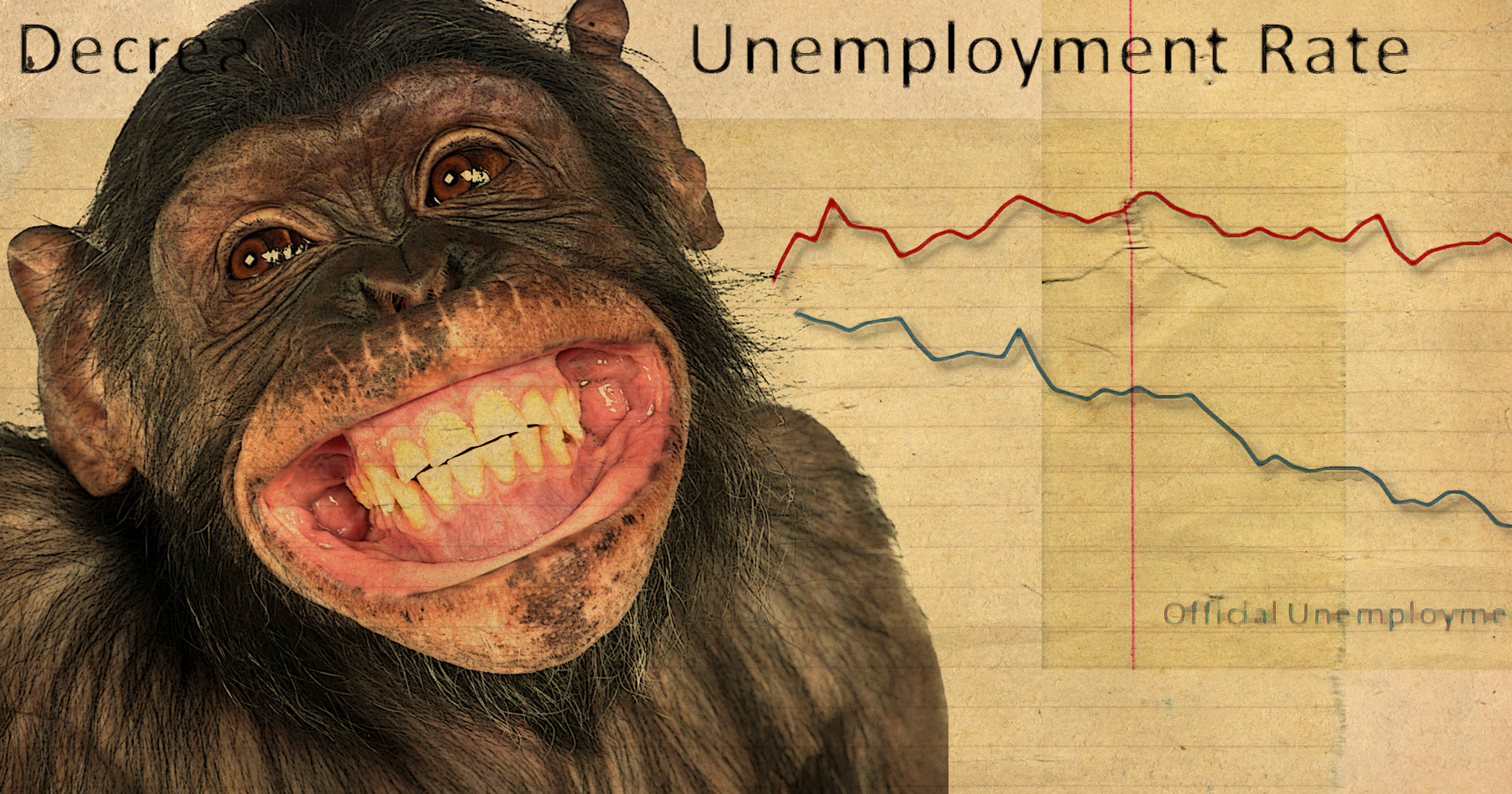 Unemployment Chimp