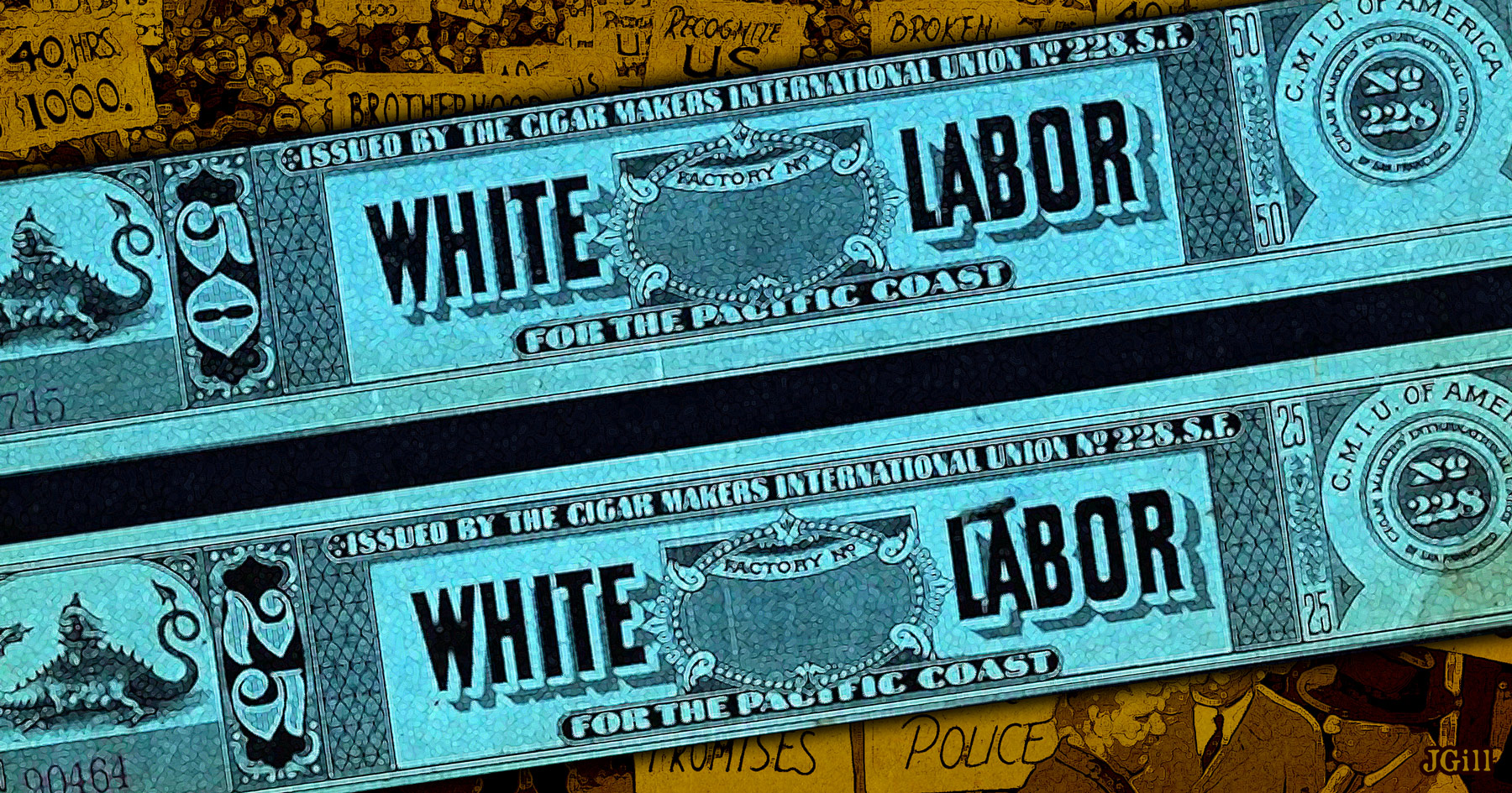 White labor and minimum wages