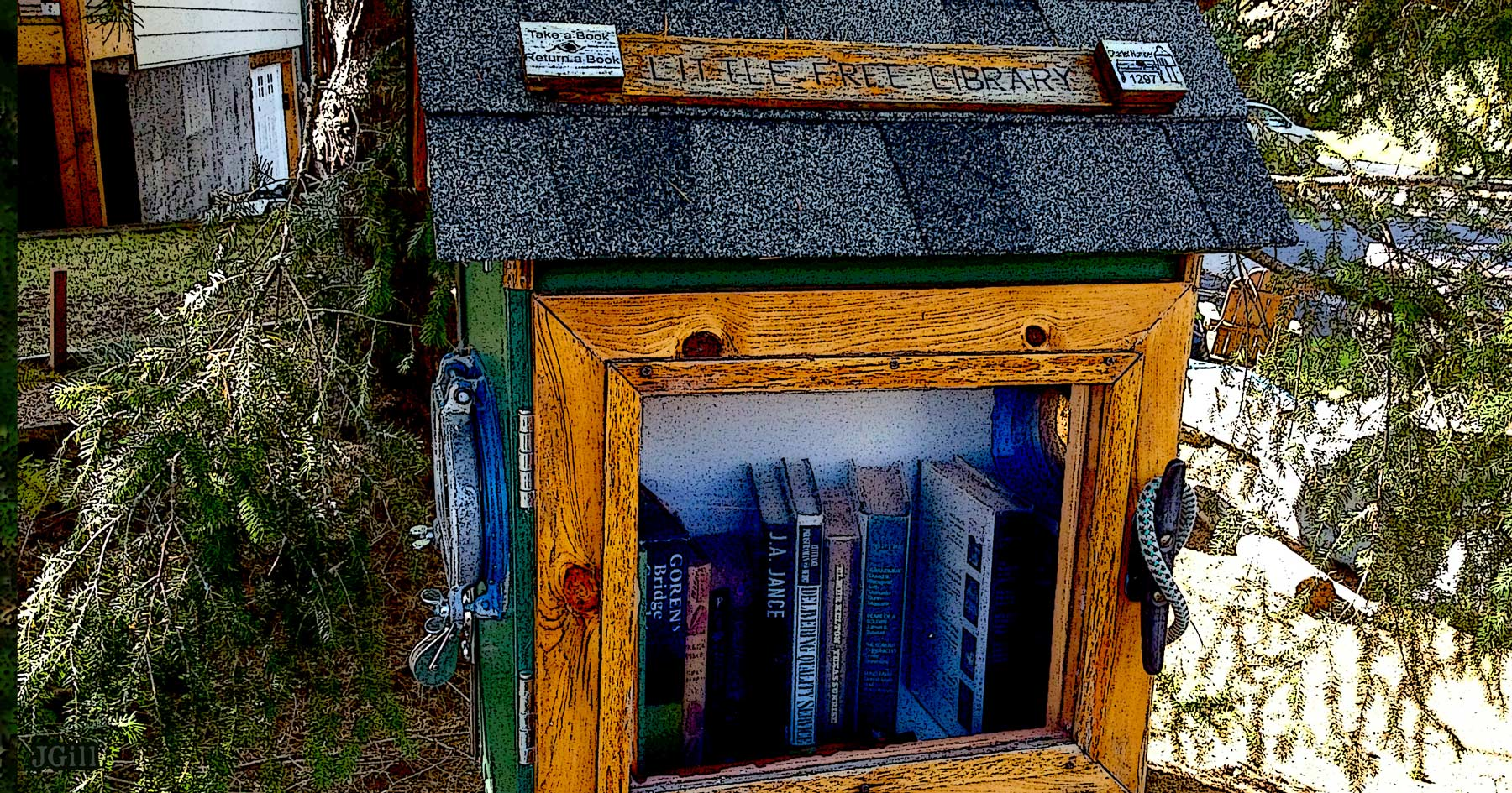 Little Free Library, illustration, Common Sense, Paul Jacob