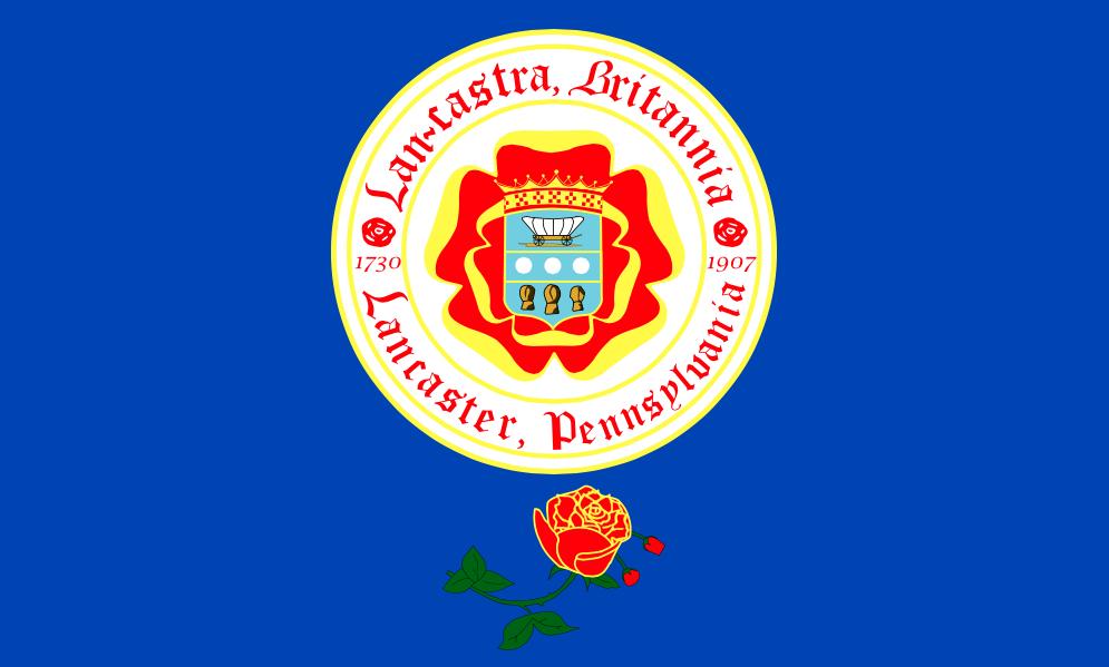 Lancaster, Penn., flag