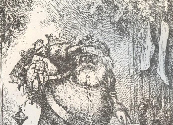Thomas Nast Santa Claus