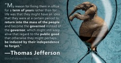 Term Limits and Jefferson