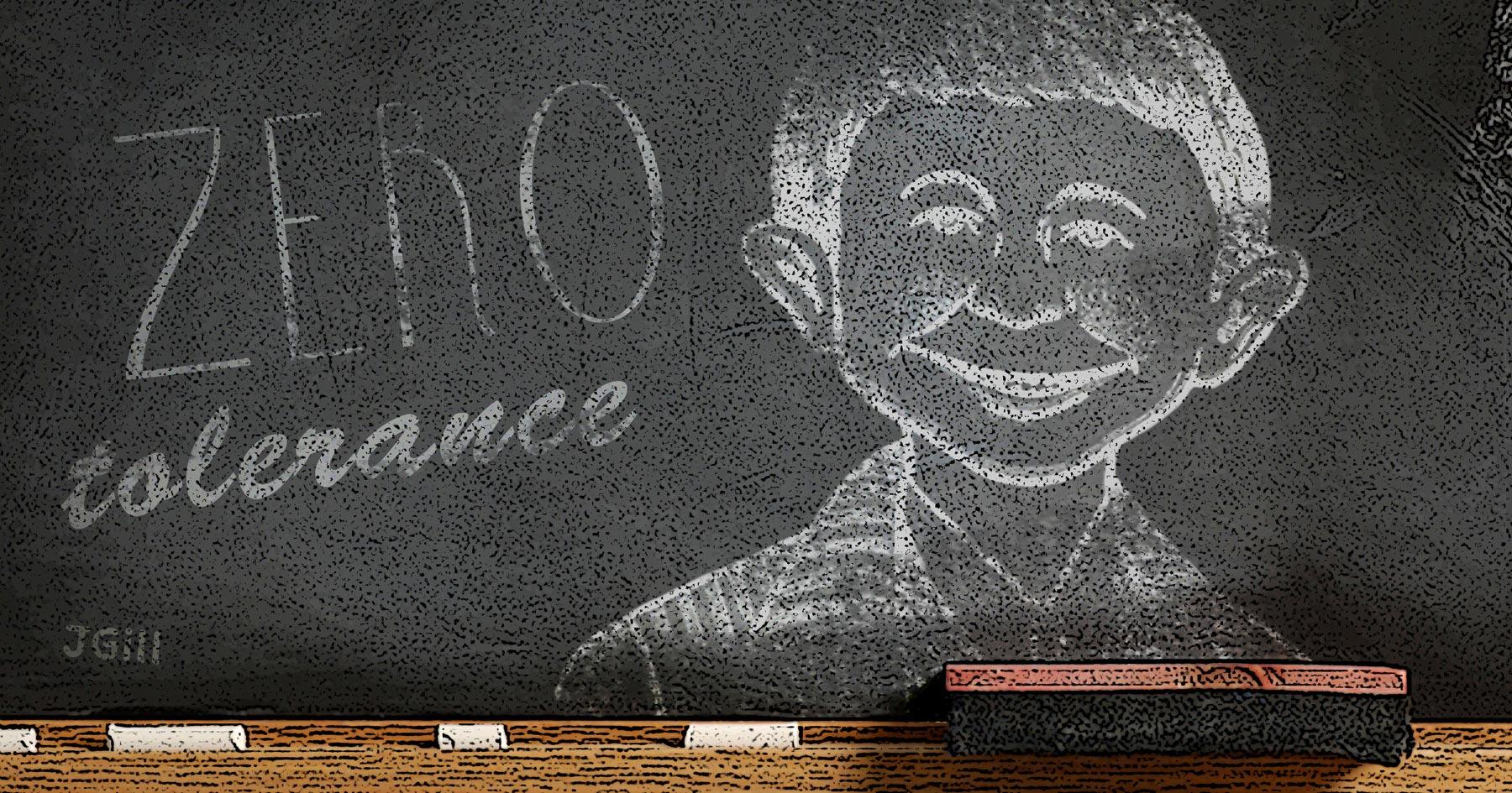 Zero Tolerance, schools, hysteria