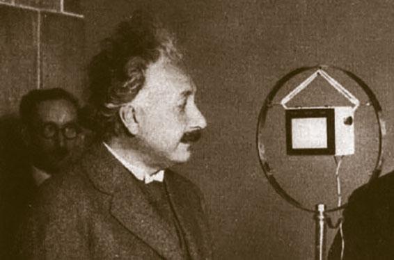 Albert Einstein on the Radio
