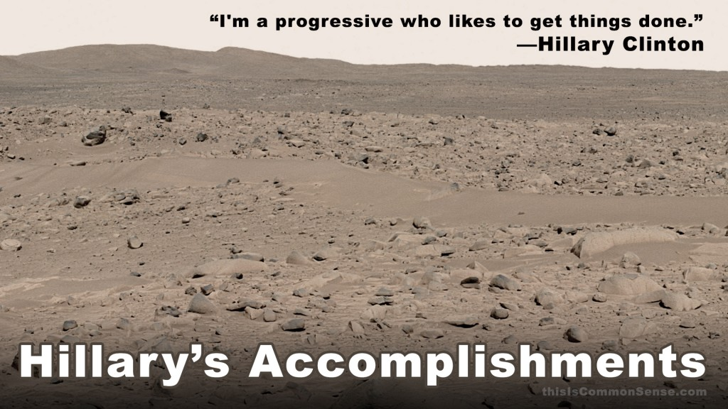 Hillary's Accomplishments