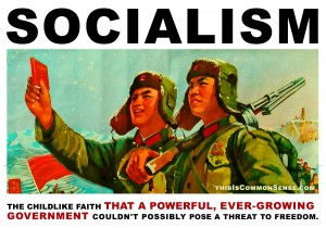 socialism, childlike faith, government, power, progressivism, Paul Jacob, Jim Gill, Common Sense, meme, illustration