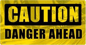 caution, danger, debt, social security, collage, photomontage, illustration, JGill, Paul Jacob, Common Sense