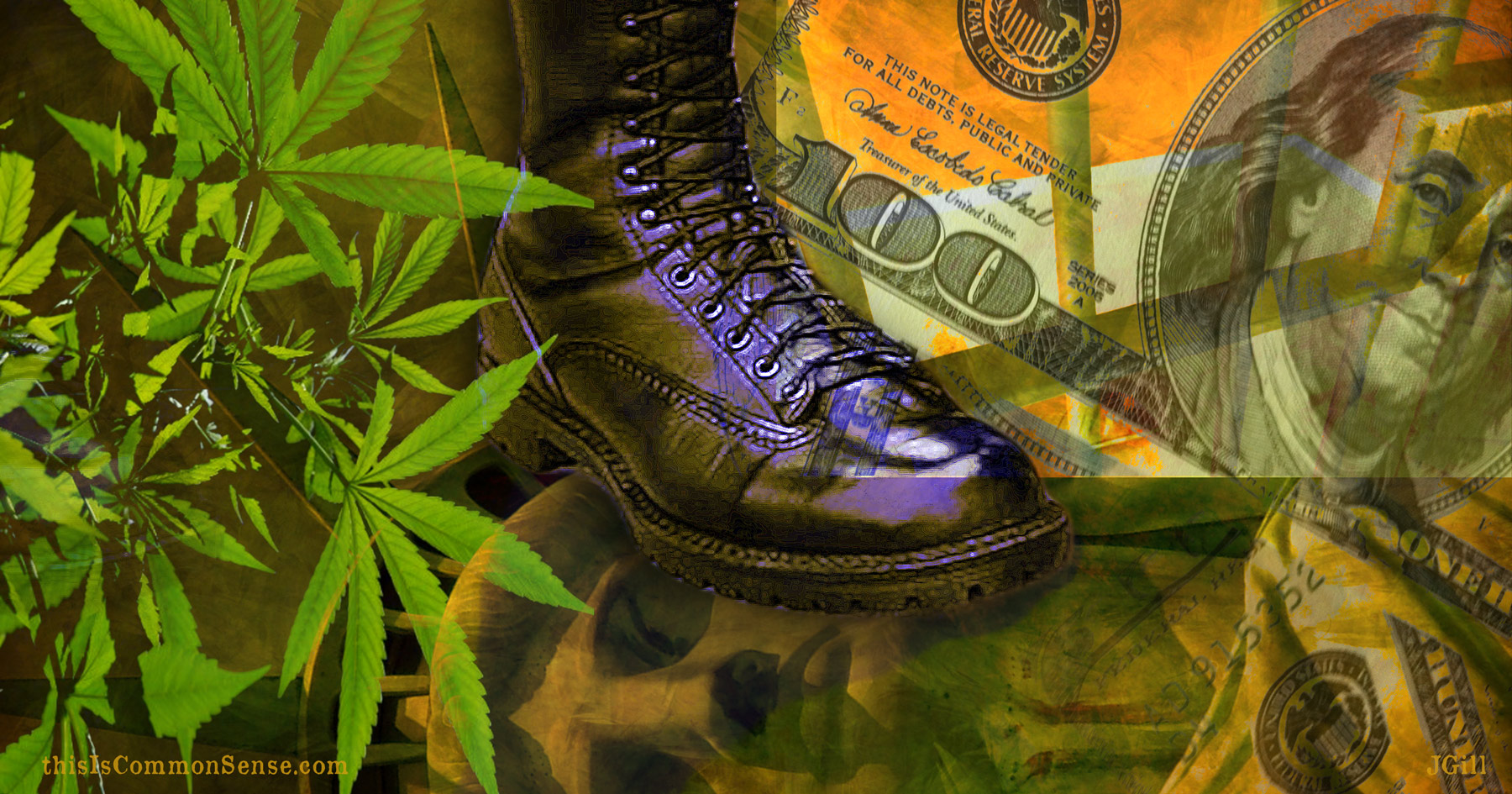 cannabis, marijuana, legalization, tax, taxes, federal, Colorado, illustration, Jim Gill, Paul Jacob, Common sense