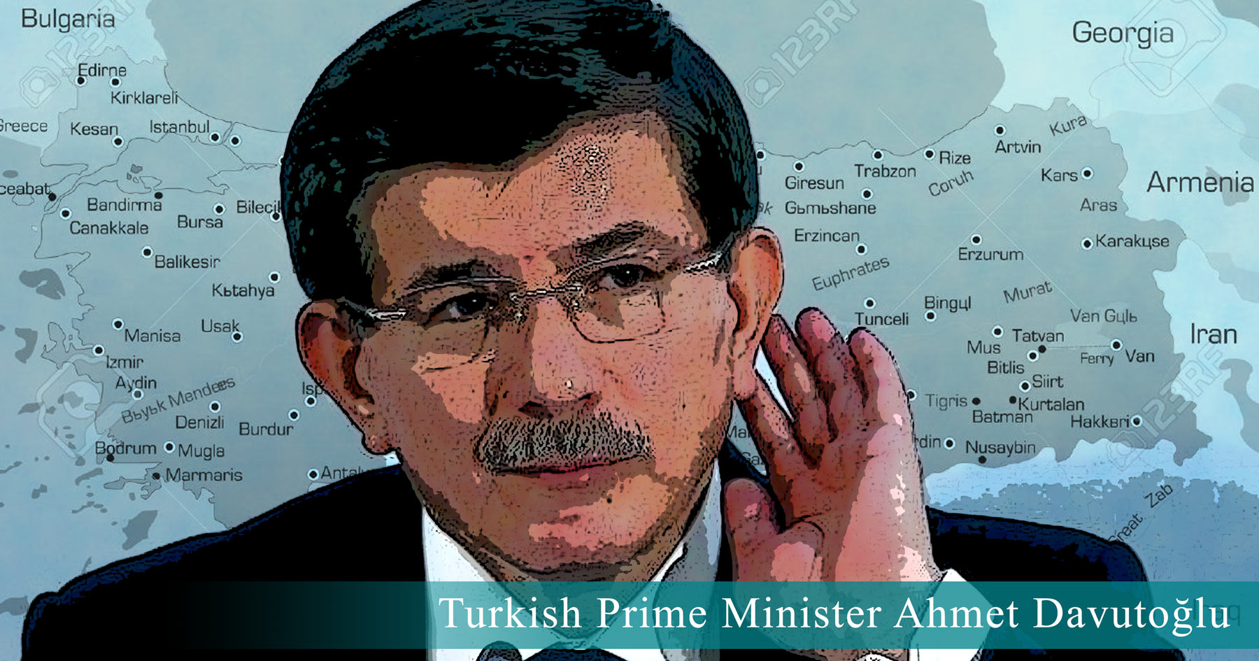 turkey, Ahmet Davutoğlu, free stuff, Bernie Sanders, illustration, Paul Jacob, Common Sense