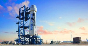 Blue Origin, Jeff Bezos, rocket, private, privatize, Common Sense, illustration