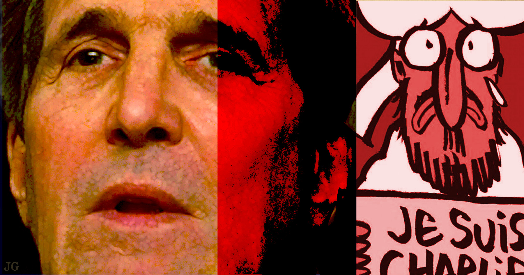 John Kerry, Charlie Hebdo, Paris Attack, terrorism, Common Sense, Illustration