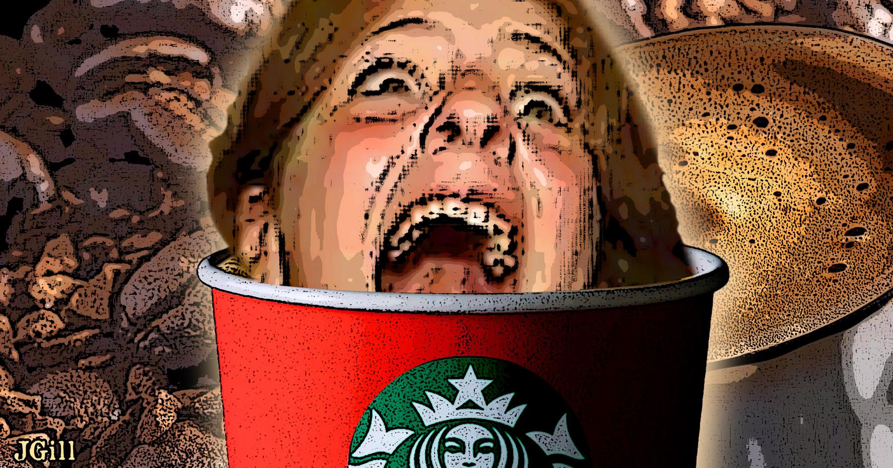 Starbucks, coffee, war on christmas, outrage, offense, folly, Common Sense