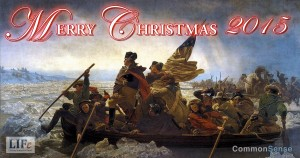 Christmas 2015, George Washington, Common Sense