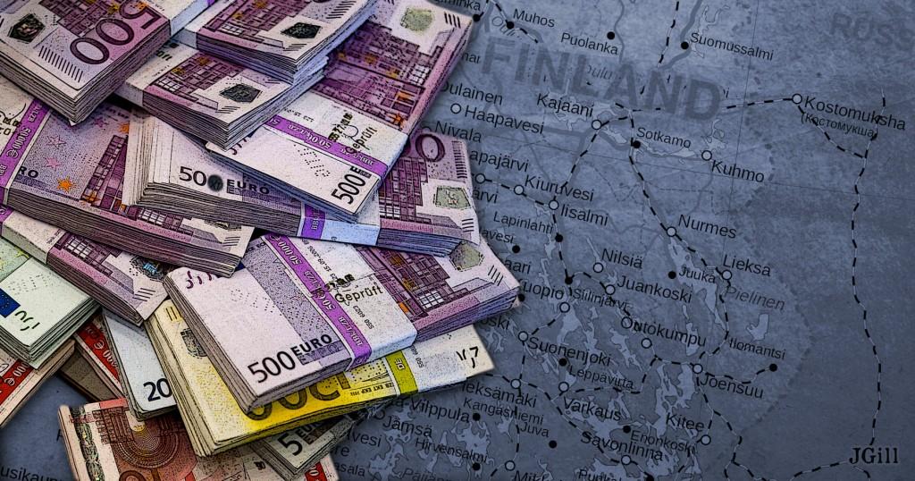 Finland, Guaranteed Income, UBI, welfare, income, Common Sense, illustration