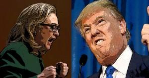 Hillary Clinton, Donald Trump, politics, children, illustration, Common Sense