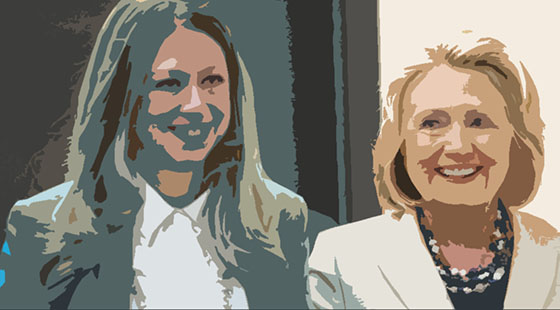 Hillary and Daughter - Meet the Clintons!