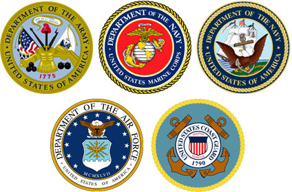 American Armed Forces, insignias
