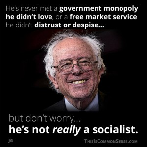 Bernie Sanders, monopoly, control, redistribution, central. planning, government, meme, illustration