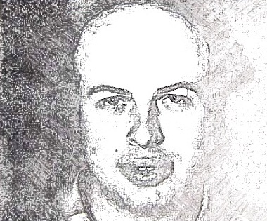 Anatoly Scharansky, sketch from poster