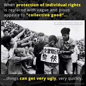 socialism, communism, China, Red Guard, Cultural Revolution, individual rights, Common Sense, meme