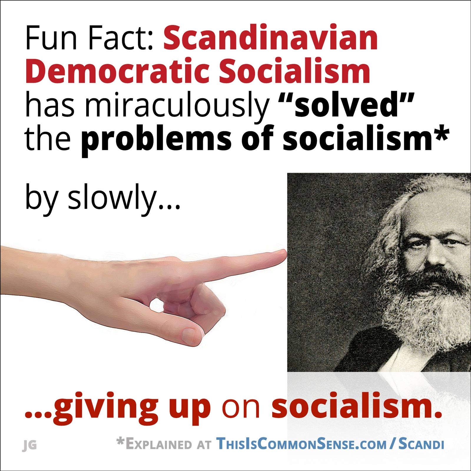 Democratic Socialism, meme, problems, solve