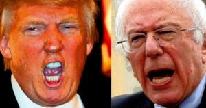 Donald Trump, Bernie Sanders, primary, election, Common Sense
