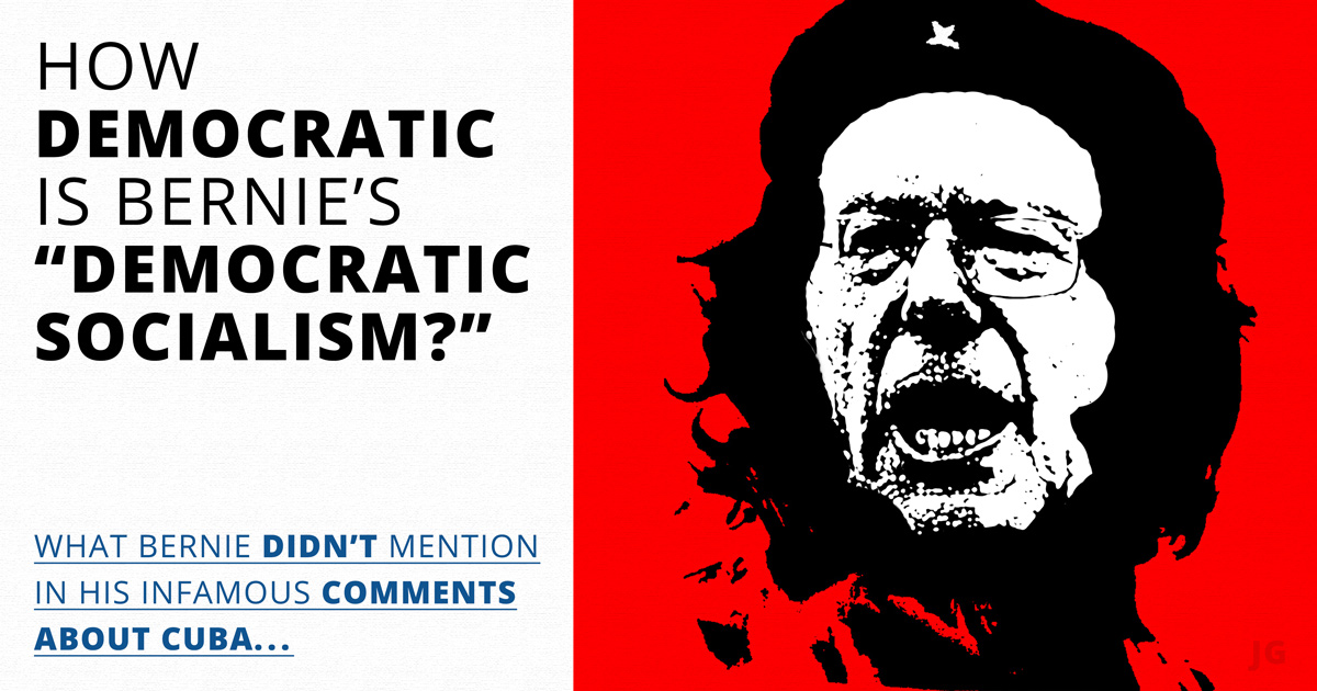 Bernie Sanders, Democratic Socialism, Che, democracy, meme, illustration, Common Sense