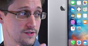 Edward Snowden, iPhone, First Amendment, privacy, Apple, illustration