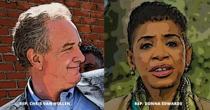 Maryland Primary, Chris Van Hollen,Donna Edwards, super PAC, the National Rifle Association, NRA