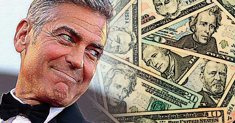 George Clooney, Campaign finance, money, big money, election, Hillary Clinton