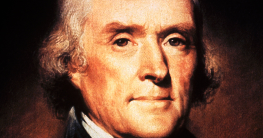 Thomas Jefferson, birthday, slavery, freedom