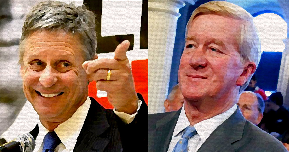 Gary Johnson, Williamn Weld, libertarian, party, president, election
