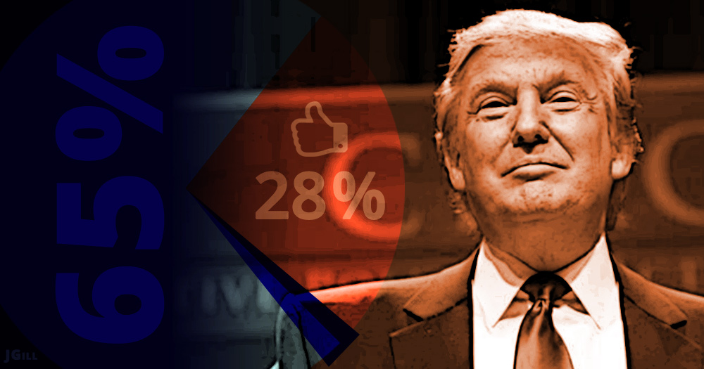 Donald Trump, Statistics, popularity, strategy, Hillary Clinton, president