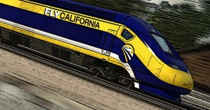California, high speed, rail, boondoggle, waste, illustration