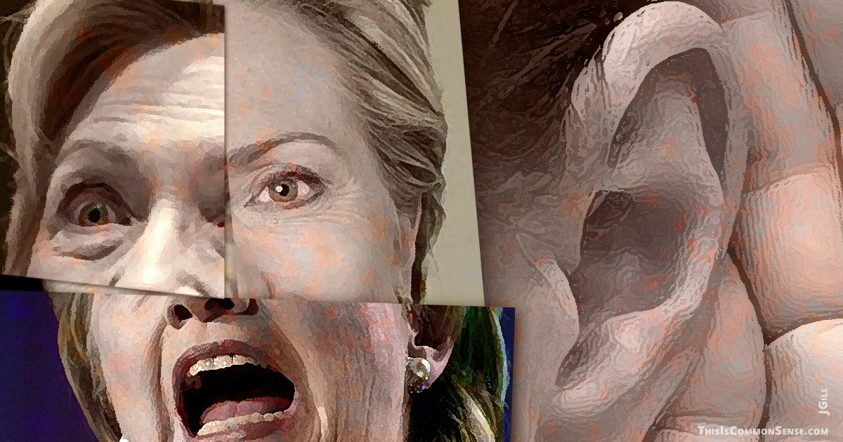 Hillary Clinton, trust, lie, truthful, Ezra Klein, illustration, VOX