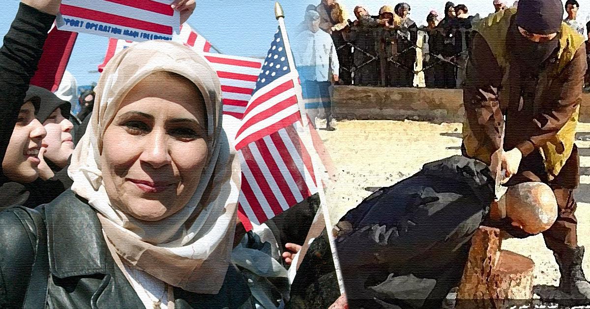 Muslim, immigrants, assimilation, welfare state, U.S., Illustration