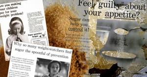 sugar, lobbying, science, corruption, illustration