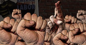 union, labor, hypocrites, SEIU, Service Employees International Union, illustration