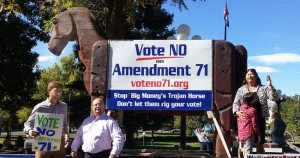 Trojan Horse, Colorado, Amendment 71, initiative, referendum, Citizens in Charge, Paul Jacob,
