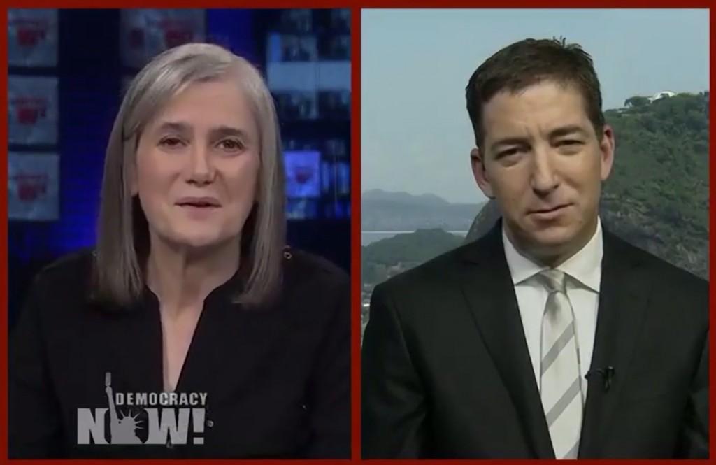Greenwald Interviewed on Democracy Now